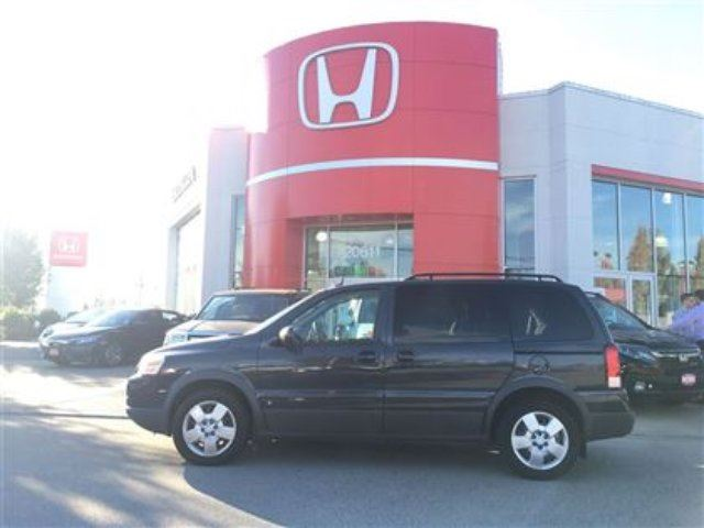 2009 PONTIAC MONTANA SV6 w/1SA - Brand New Tires! Accident Free! in Maple Ridge, British Columbia