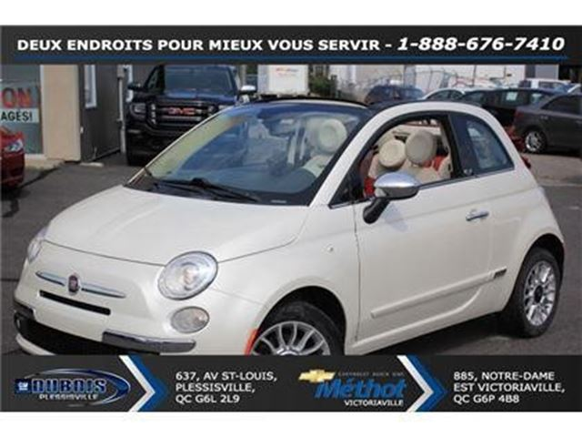 2012 Fiat 500 Gucci in Plessisville, Quebec