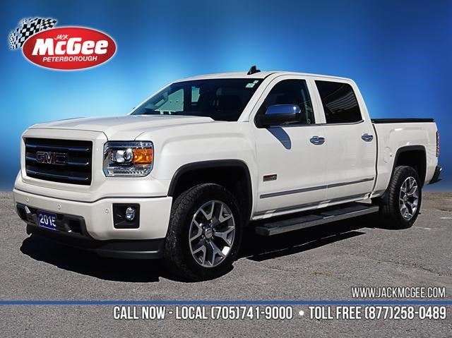 2015 gmc sierra 1500 slt peterborough ontario car for sale 2592259. Black Bedroom Furniture Sets. Home Design Ideas