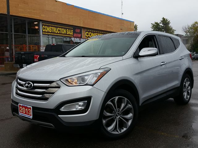 2013 hyundai santa fe sport limited 2 0t silver newmarket hyundai. Black Bedroom Furniture Sets. Home Design Ideas