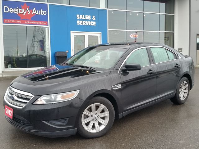 2012 ford taurus se black deejays auto sales service. Black Bedroom Furniture Sets. Home Design Ideas