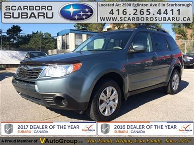 2009 subaru forester 2 5x scarborough ontario used car for sale 2593042. Black Bedroom Furniture Sets. Home Design Ideas