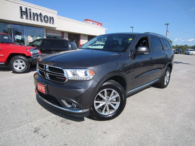 2015 dodge durango limited 7 passenger heated leather perth ontario car for sale 2592810. Black Bedroom Furniture Sets. Home Design Ideas