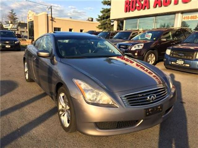 2009 INFINITI G37 x AWD AUTO NAVIGATION BLUETOOTH LEATHER BACK UP CAME in Oakville, Ontario
