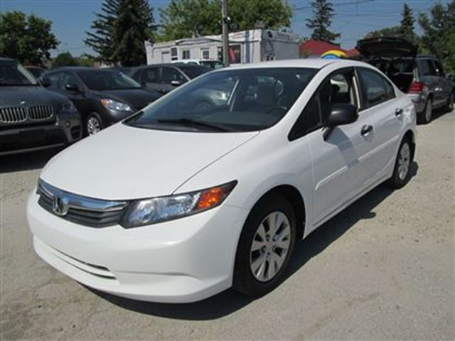2012 honda civic dx only 35000km cert 3 years for 1 year car lease honda