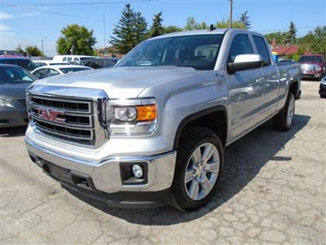 2015 gmc sierra 1500 sle z71 pkg 4x4 certified silver toronto. Black Bedroom Furniture Sets. Home Design Ideas