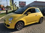 2015 Fiat 500 Sport, Automatic, Sunroof, ONLY 688KMS. Car is Bra in Burlington, Ontario