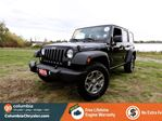 2015 Jeep Wrangler Unlimited RUBICON, 4 DOOR, REMOTE START, TOUCH SCREEN, 17 INCH ALLOY WHEELS, NO ACCIDENTS, LOCALLY DRIVEN, ONE OWNER, FREE LIFETIME ENGINE WARRANTY! in Richmond, British Columbia