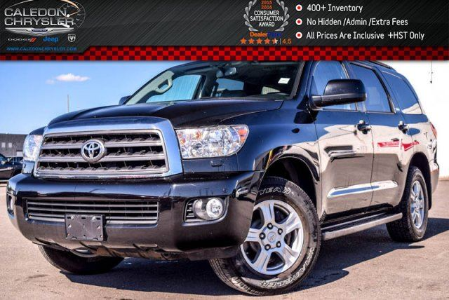 2013 Toyota Sequoia SR5 4x4 8 Seater Sunroof Backup Cam DVD Leather Keyless Entry 18Alloy Rims in Bolton, Ontario