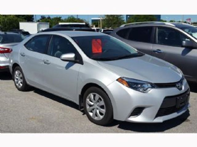 2015 toyota corolla le fwd mississauga ontario used car for sale 2594155. Black Bedroom Furniture Sets. Home Design Ideas