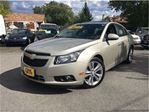 2013 Chevrolet Cruze LTZ Turbo LEATHER SUNROOF BIG MAGS BACK UP CAMERA in St Catharines, Ontario