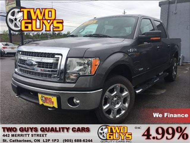 2014 ford f 150 xlt 4wd crew 20 chrome super clean truck. Black Bedroom Furniture Sets. Home Design Ideas