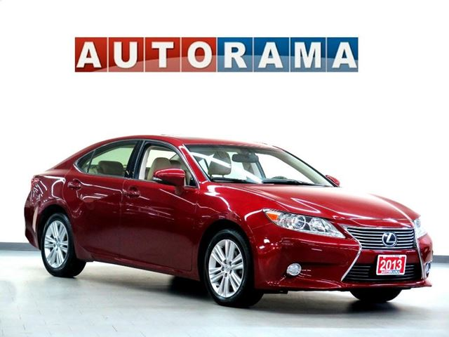 2013 LEXUS ES 350 NAVI BACK UP CAM LEATHER SUNROOF BACK UP CAMERA in North York, Ontario