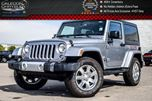 2015 Jeep Wrangler Sahara 4x4 Dual Top R-Start Heated Front Seats 18alloy Rims in Bolton, Ontario