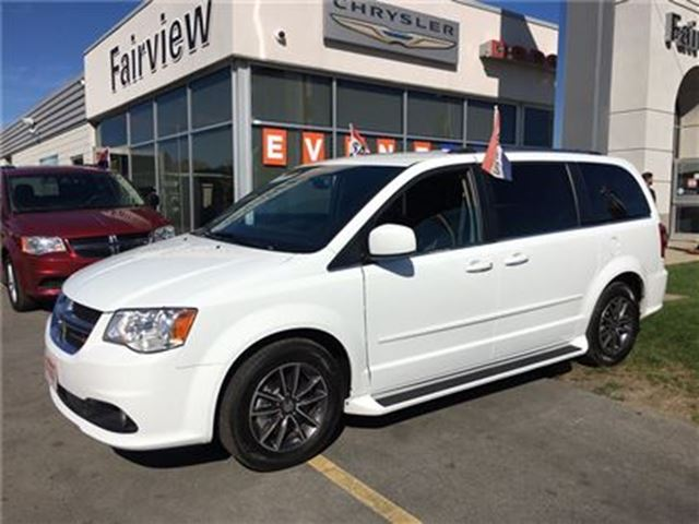 2016 dodge grand caravan sxt premium plus white fairview chrysler. Black Bedroom Furniture Sets. Home Design Ideas