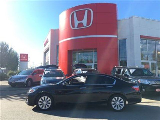 2013 HONDA ACCORD EX-L - Extended Warranty! Leather! in Maple Ridge, British Columbia
