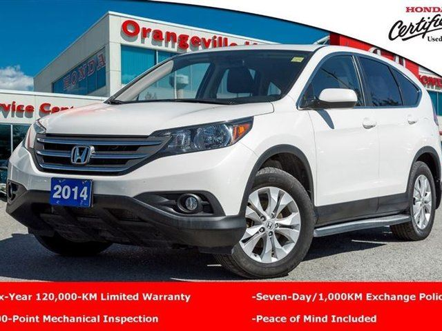 2014 honda cr v ex l white orangeville honda. Black Bedroom Furniture Sets. Home Design Ideas