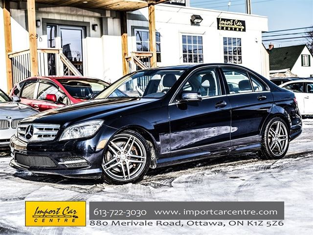 2011 MERCEDES-BENZ C-Class C350 NAVIGATION PRICED REDCUED!!  CALL!! in Ottawa, Ontario
