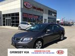 2014 Honda Civic LX ONLY $57 A WEEK!!! in Grimsby, Ontario