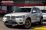 2015 BMW X3 xDrive28i AccidentFree PanoSunroof Nav RearCam H/K Audio Drvr Memory 19Alloys  in Thornhill, Ontario