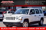 2016 Jeep Patriot Sport CleanCarProof Cruise&Traction Control A/C CD Player with AUX  in Thornhill, Ontario