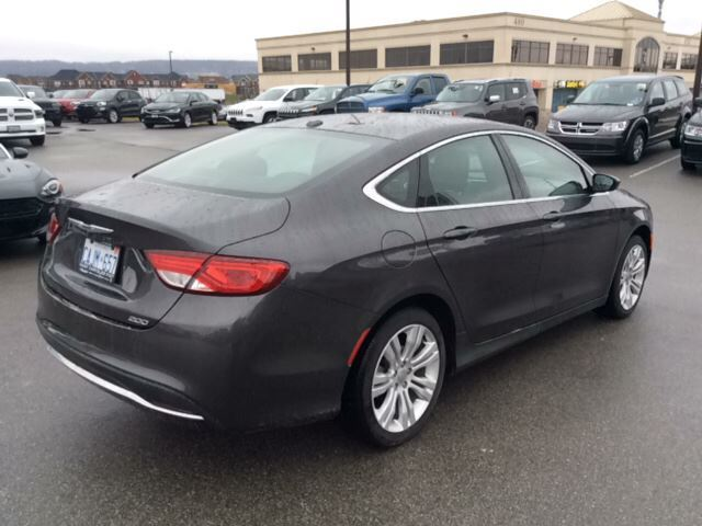 2016 chrysler 200 limited demo milton ontario used car. Cars Review. Best American Auto & Cars Review