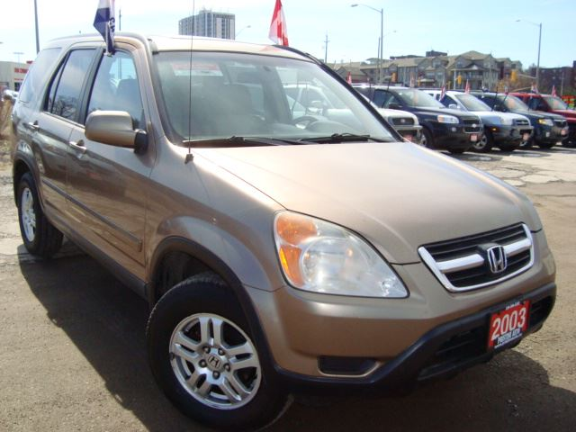 2003 HONDA CR-V EX-L 4WD Accident Free in Cambridge, Ontario