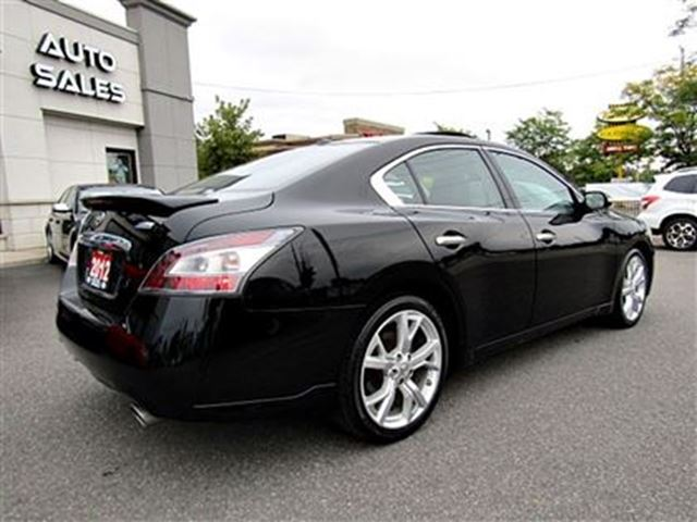 2012 nissan maxima sv leather sport sedan price reduced ottawa ontario used car for. Black Bedroom Furniture Sets. Home Design Ideas