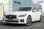 2014 Infiniti Q50 Sport! Technology Package! 19 Rims! Navigation! B in Mississauga, Ontario