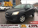 2014 Chevrolet Trax LS BLUETOOTH CONNECTION TELEMATICS in St Catharines, Ontario