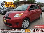 2011 Scion xD USB JACK 5 PASSENGER CRUISE CONTROL in St Catharines, Ontario