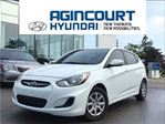 2013 Hyundai Accent GL AUTO/HEATED SEATS/OFF LEASE/ONLY 59128KMS!! in Toronto, Ontario