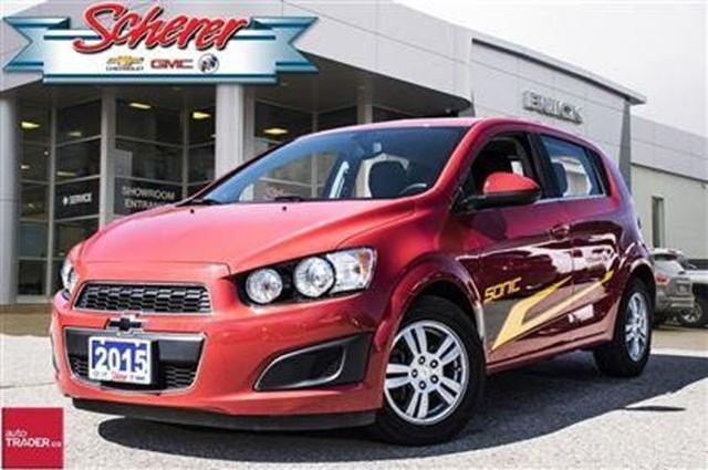 2015 chevrolet sonic lt kitchener ontario used car for. Black Bedroom Furniture Sets. Home Design Ideas