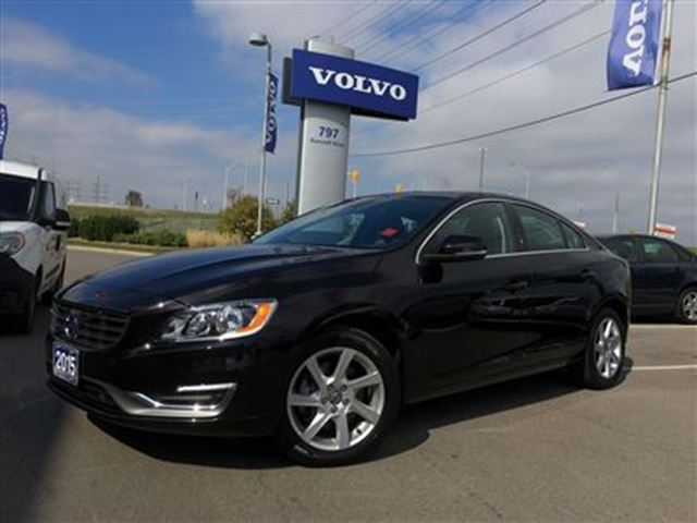 2015 volvo s60 t5 awd a premier 2 volvo certified pre owned fro black volvo of mississauga. Black Bedroom Furniture Sets. Home Design Ideas