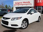 2013 Honda Civic Coupe LX 5AT in Calgary, Alberta