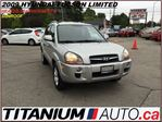 2009 Hyundai Tucson Limited+Heated Leather Seats+Sunroof+New Brakes+++ in London, Ontario