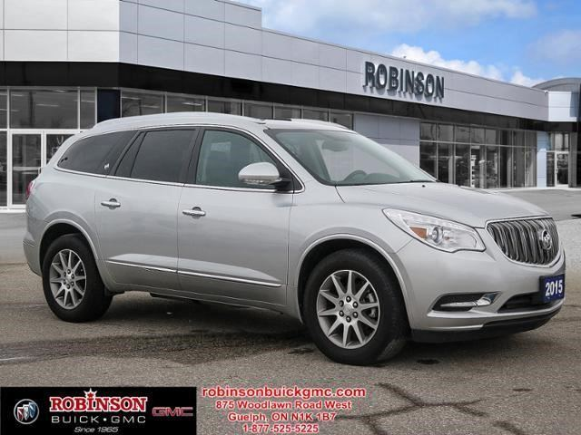 2015 buick enclave leather guelph ontario used car for sale 2598202. Black Bedroom Furniture Sets. Home Design Ideas