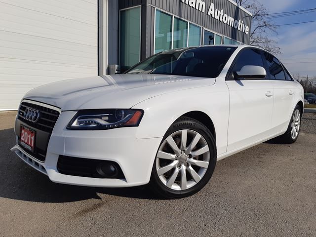 2011 audi a4 2 0t quattro white durham automotive. Black Bedroom Furniture Sets. Home Design Ideas