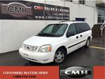 2005 Ford Freestar SE 7 PASS. ALLOYS *UNCERTIFIED - AS IS* in St Catharines, Ontario