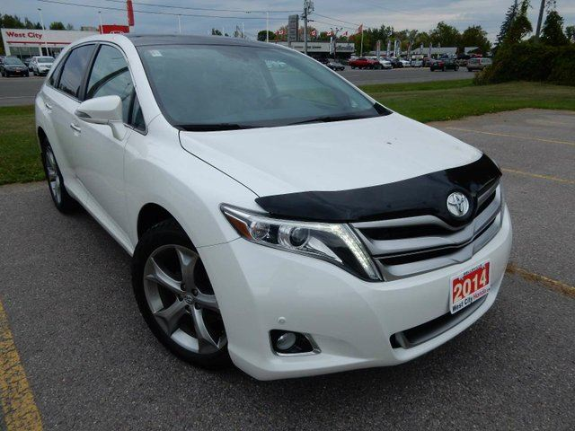 2014 toyota venza limited nice leather v6 loaded white west city honda. Black Bedroom Furniture Sets. Home Design Ideas