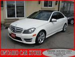 2012 Mercedes-Benz C-Class C300 4-MATIC NAVIGATION PANO ROOF in Toronto, Ontario
