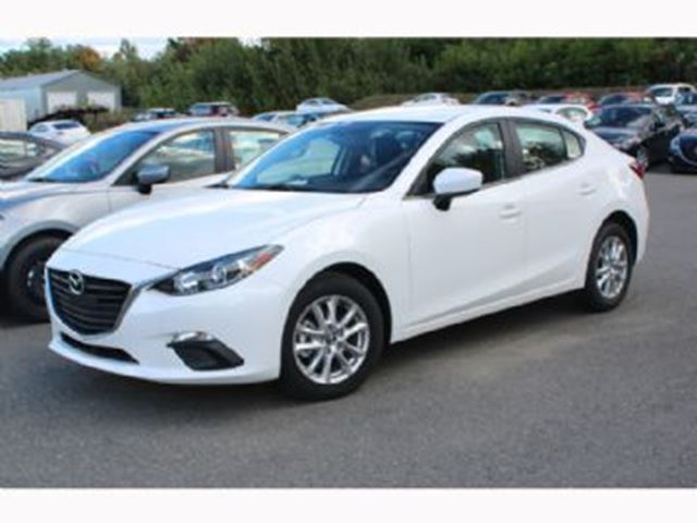 1 Year Car Lease >> 2015 Mazda MAZDA3 White | LEASE BUSTERS | Wheels.ca