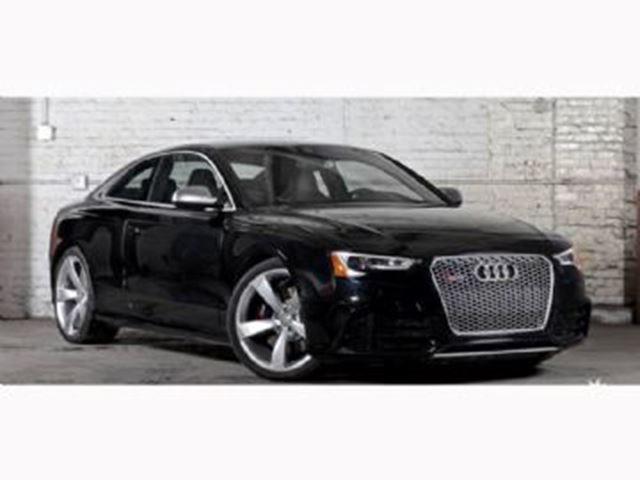 2014 Audi RS5 Black LEASE BUSTERS
