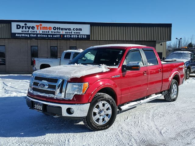 2009 ford f 150 lariat crew cab 4x4 ottawa ontario used. Black Bedroom Furniture Sets. Home Design Ideas