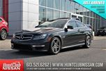 2013 Mercedes-Benz C-Class C 63 AMG   451 HP, Red Leather, Navigation in Ottawa, Ontario