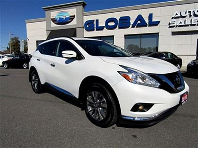 2016 nissan murano sv awd new price navigation panoramic roof ottawa ontario used car for. Black Bedroom Furniture Sets. Home Design Ideas