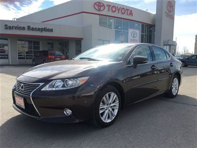 2015 lexus es 350 leather roof nav cooled seats bowmanville ontario used car for sale 2599975. Black Bedroom Furniture Sets. Home Design Ideas