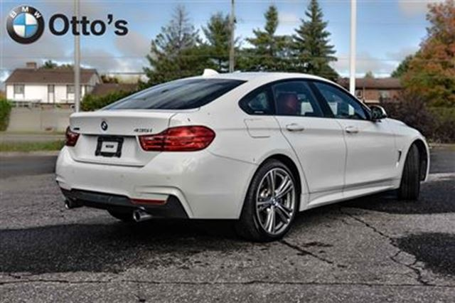 2015 bmw 435i xdrive gran coupe ottawa ontario used car for sale 2600169. Black Bedroom Furniture Sets. Home Design Ideas
