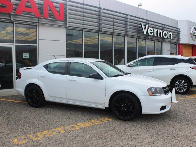 2013 dodge avenger black top vernon british columbia used car for. Cars Review. Best American Auto & Cars Review