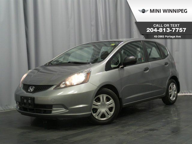 2009 Honda Fit DX-A Manual Transmission! in Winnipeg, Manitoba